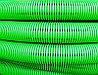 DKC Труба гибкая двустенная дренажная д.90мм, класс SN8, перфорация 360 град., цвет зеленый