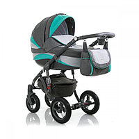 Детская универсальная коляска Adamex barletta new 2в1 (B2), фото 1