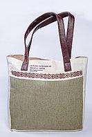 Эко сумка комбинированная