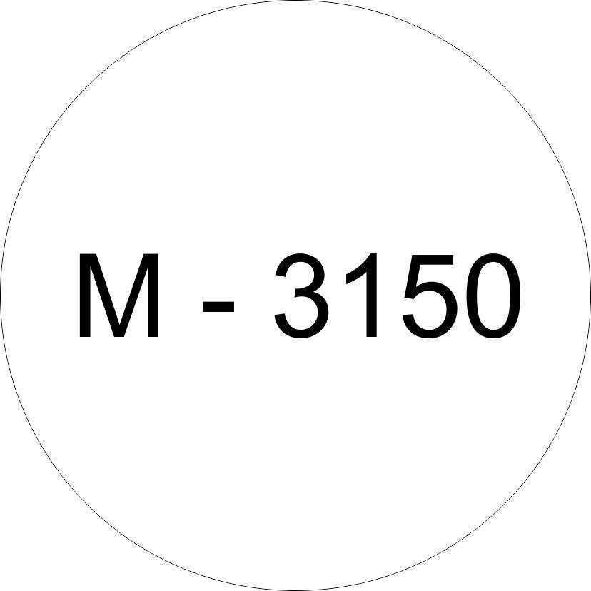 Винил белый М - 3150 (1,06м х 45,7м)