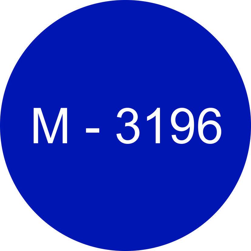 Винил синий М - 3196 (1,06м х 45,7м)