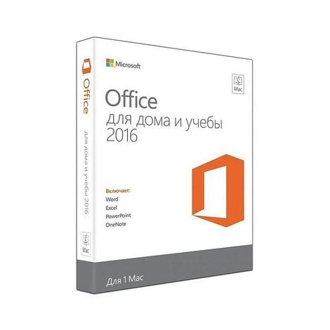 Microsoft Office Mac Home and Student 2016, 1 Mac, Электронный ключ
