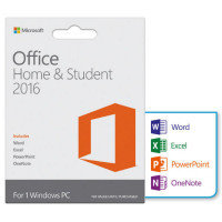 Microsoft Office Home and Student 2016 32-bit/x64, 1 ПК, Электронный ключ