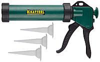 Пистолет для герметика закрытый KRAFTOOL 06677_z01, шприц, 320 мл