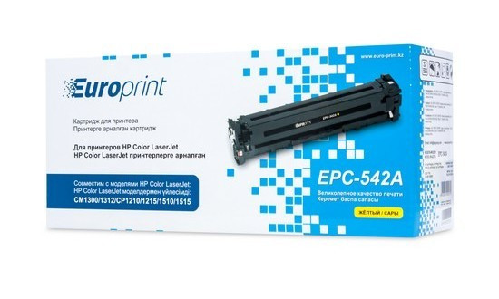 Картридж Europrint EPC-542A - Yellow