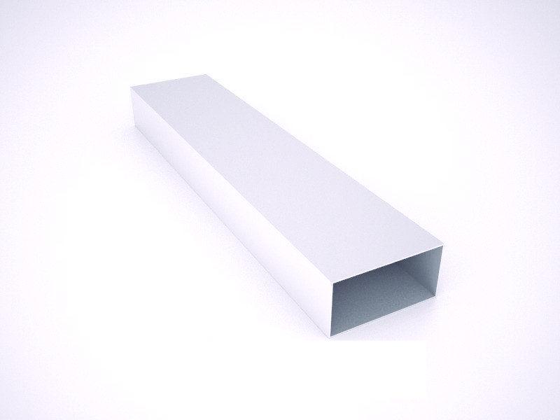 Тюбинг алюминиевый профиль 2,5см х 5см * 0,8мм