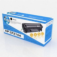 Картридж HP CF210A/Canon 731 (№131A) Black для CLJ Pro 200 Color M251/M276 (1,6K) Euro Print