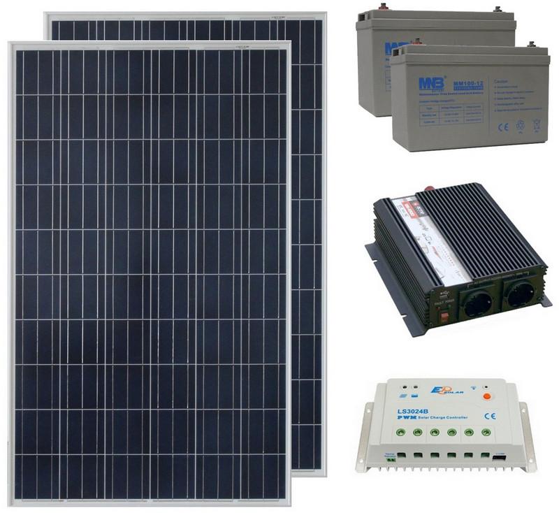 Солнечная электростанция 2.2 кВт/день