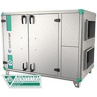 Приточно-вытяжная вентиляционная установка 3500 м3/ч Systemair Topvex SR09 HWH-L-CAV