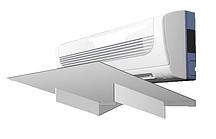 Отражатель воздушного потока настенного кондиционера Sinbo 1000x370 ПВХ 3 мм белый