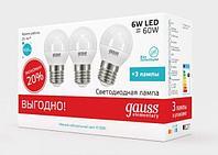 Лампа LED E27 6W, фото 1