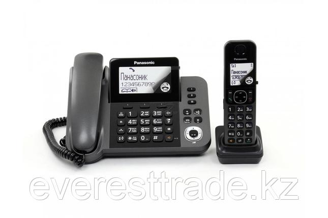 Телефон PANASONIC KX-TGF320UCM Black, фото 2