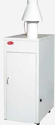 Напольный газовый котел Ривнетерм-32 (автоматика каре, Польша), 32 кВт до 300 м², фото 2