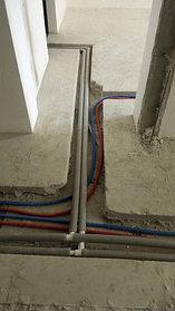 Монтаж отопления в квартире 6
