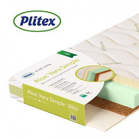 Детский матрас Plitex ALOE VERA SIMPLE 1190х600х110