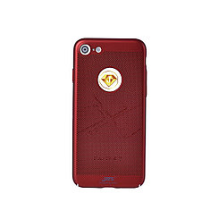 Чехол для Apple iPhone 7 back cover JZZS plastic netting Red