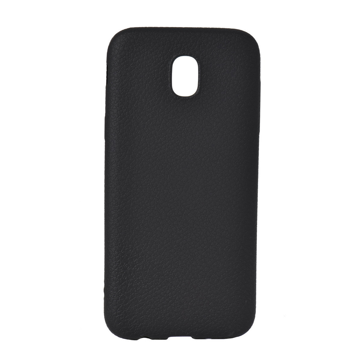 Чехол для Samsung Galaxy J5 (2017) J530 back cover Leather oem Black