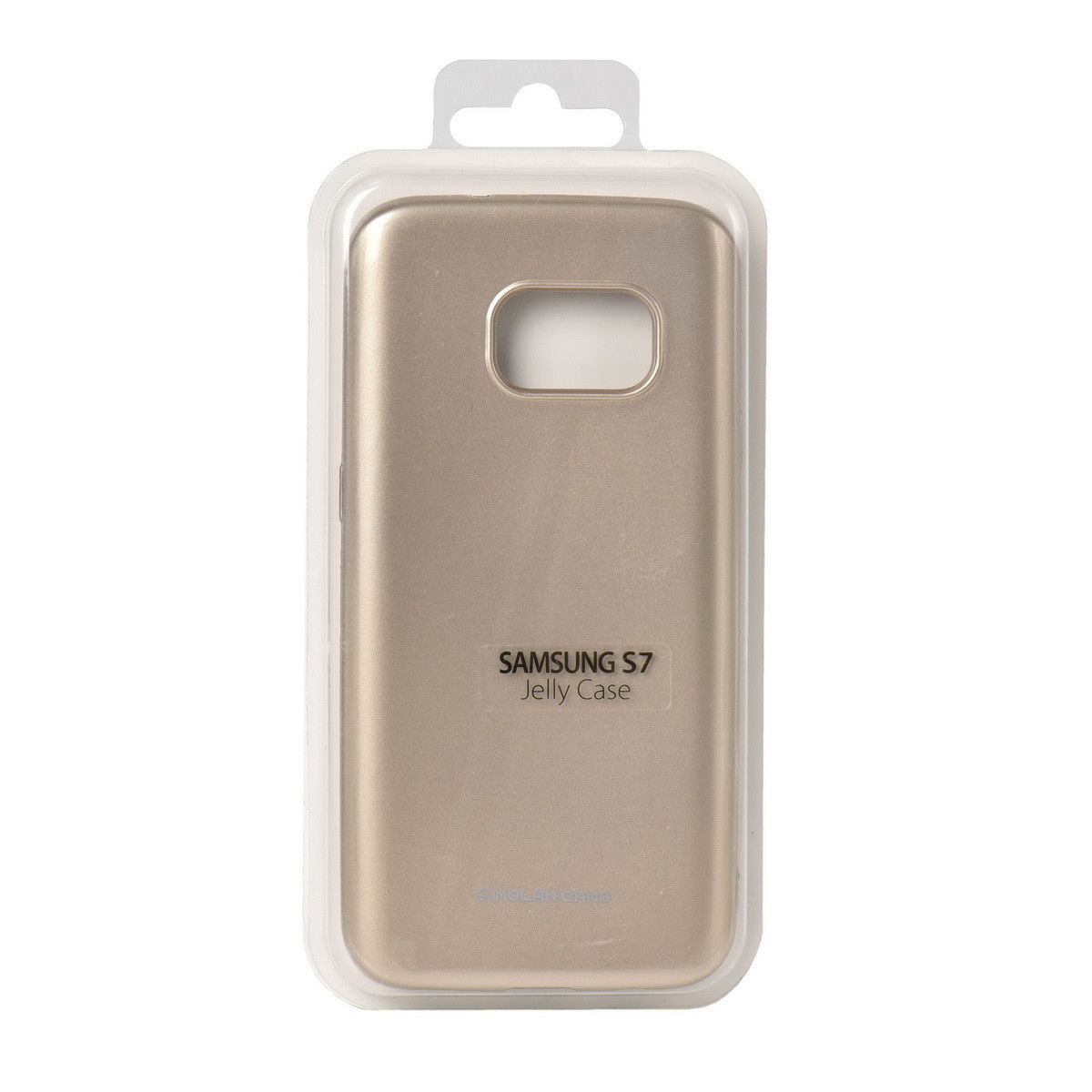 Чехол для Samsung Galaxy S7 G930 back cover Molan Cano Jelly Case Gold - MobiPlus в Караганде