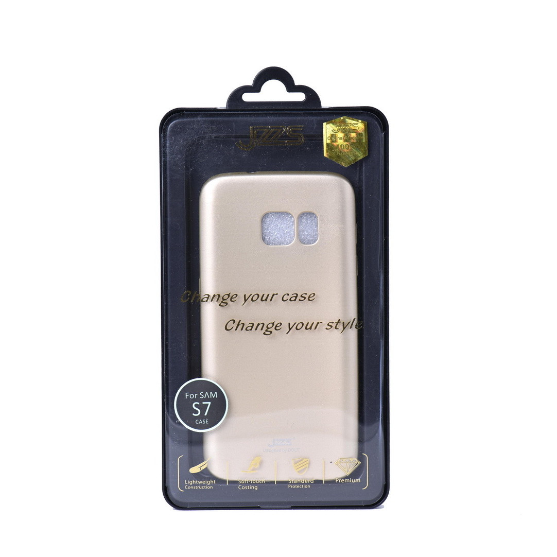 Чехол для Samsung Galaxy S7 G930 back cover JZZS gel Gold