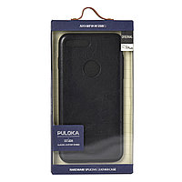 Чехол для Apple iPhone 7 Plus back cover Puloka Classic Leather series Genuine Leather Black