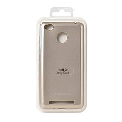 Чехол для Xiaomi Redmi 3S back cover Molan Cano Jelly Case Gold