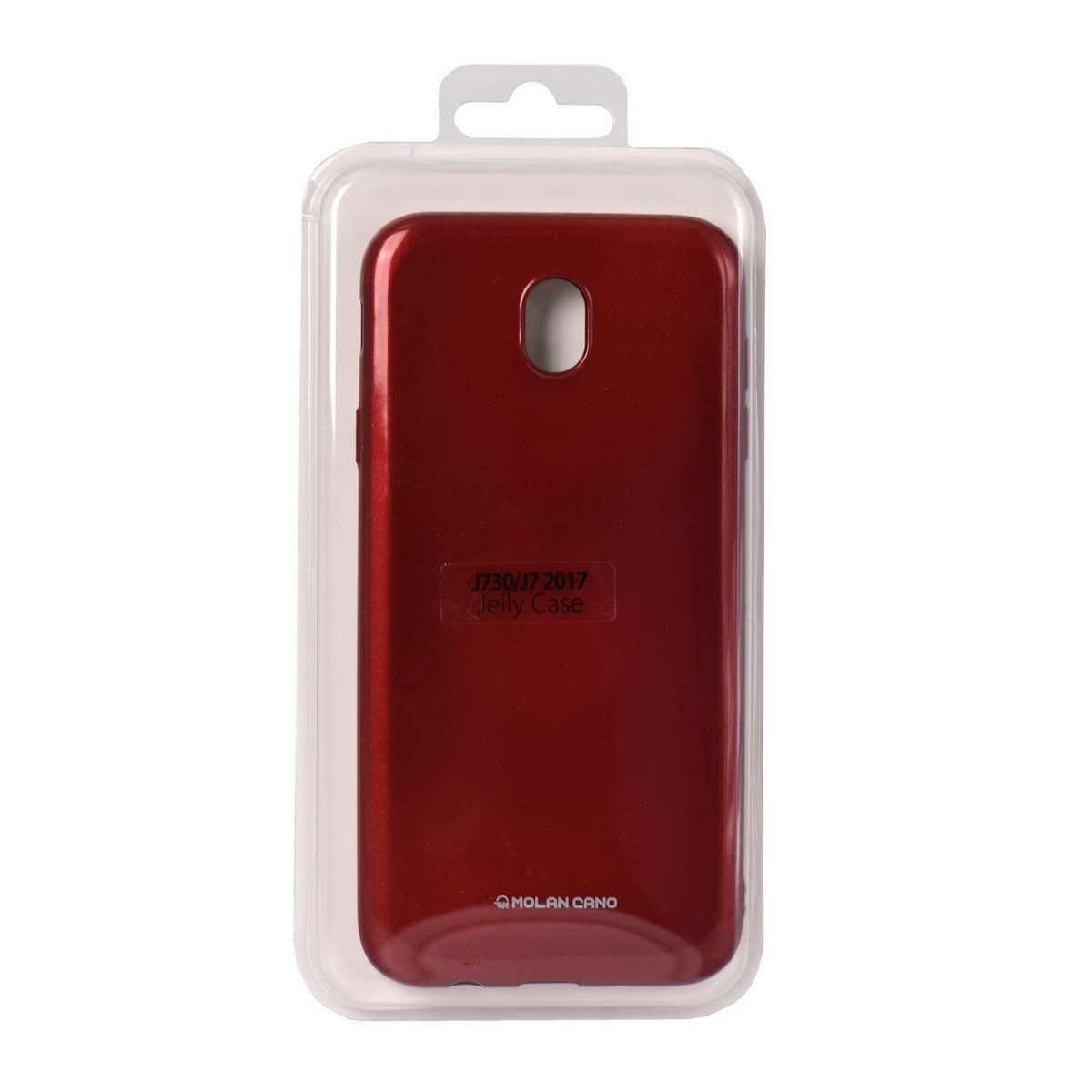 Чехол для Samsung Galaxy J7 (2017) J730 back cover Molan Cano Jelly Case Red - MobiPlus в Караганде