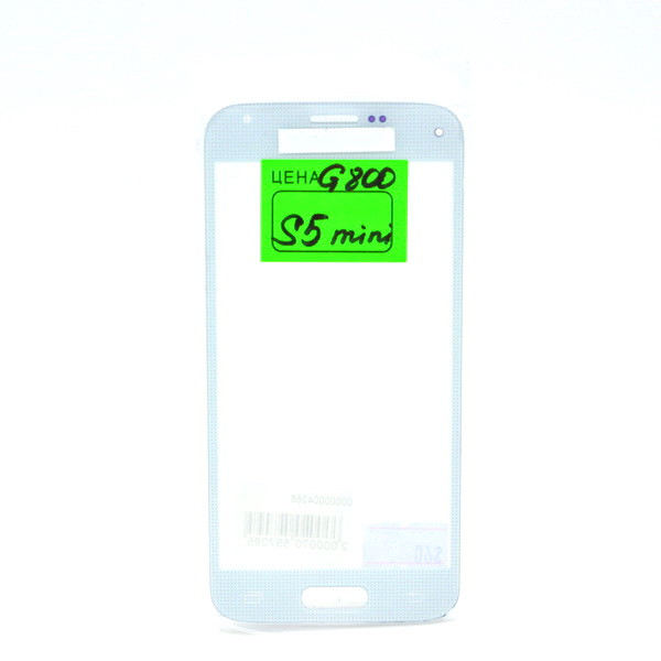 Стекло Samsung Galaxy S5 mini G800 White (57)