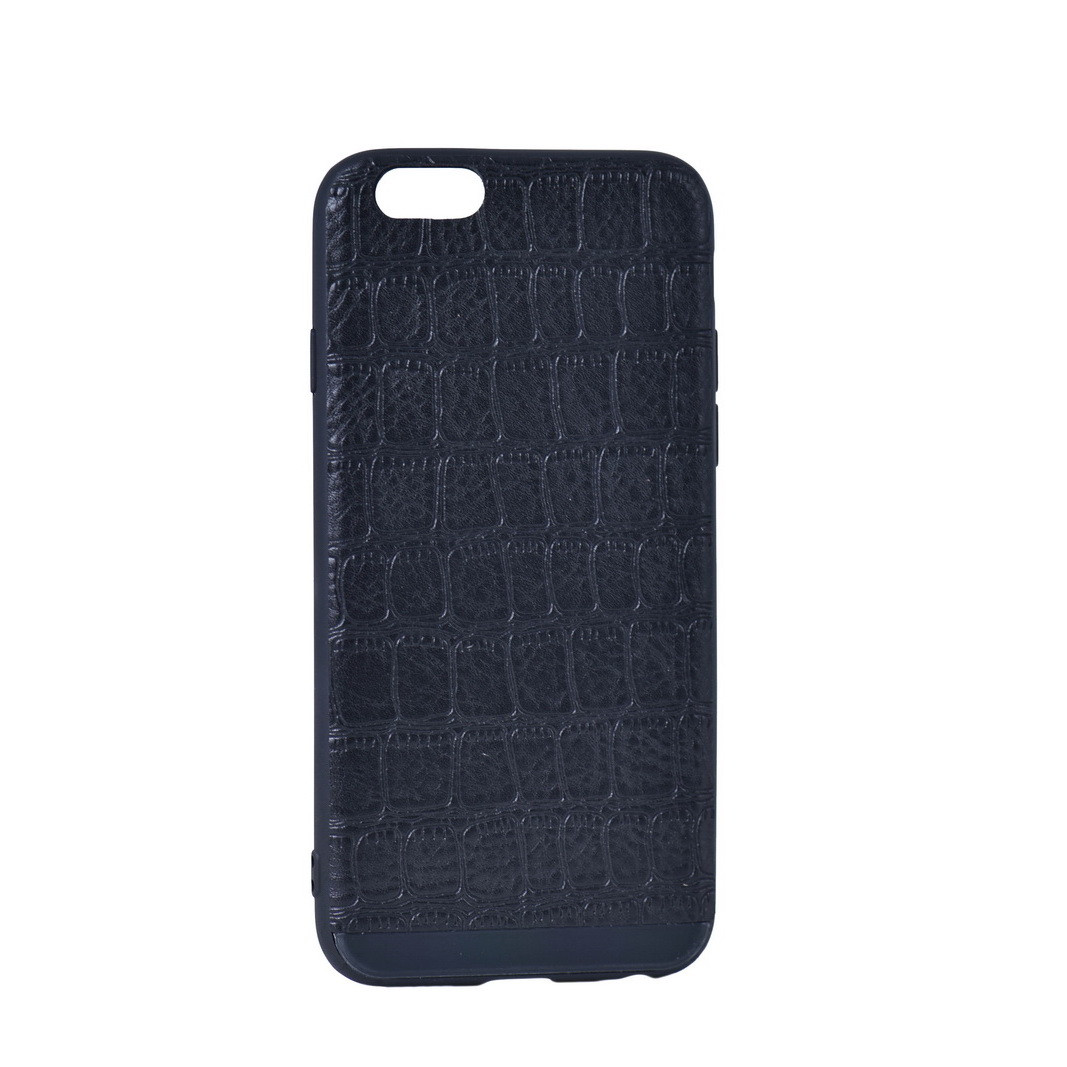 Чехол для Apple iPhone 6 back cover Fashion case Perfect Croco Leather Black