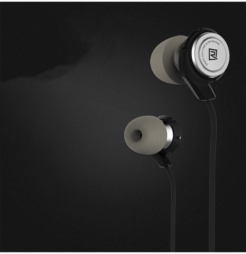 Гарнитура Remax Hybrid Earphone RM-800MD Black