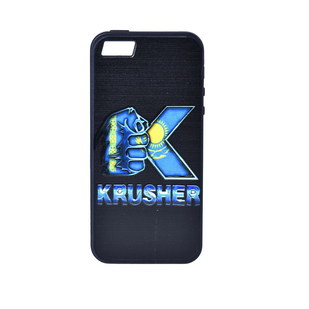 Чехол для Apple iPhone 5/5S/5SE back cover WK Krusher plastic Black/Blue
