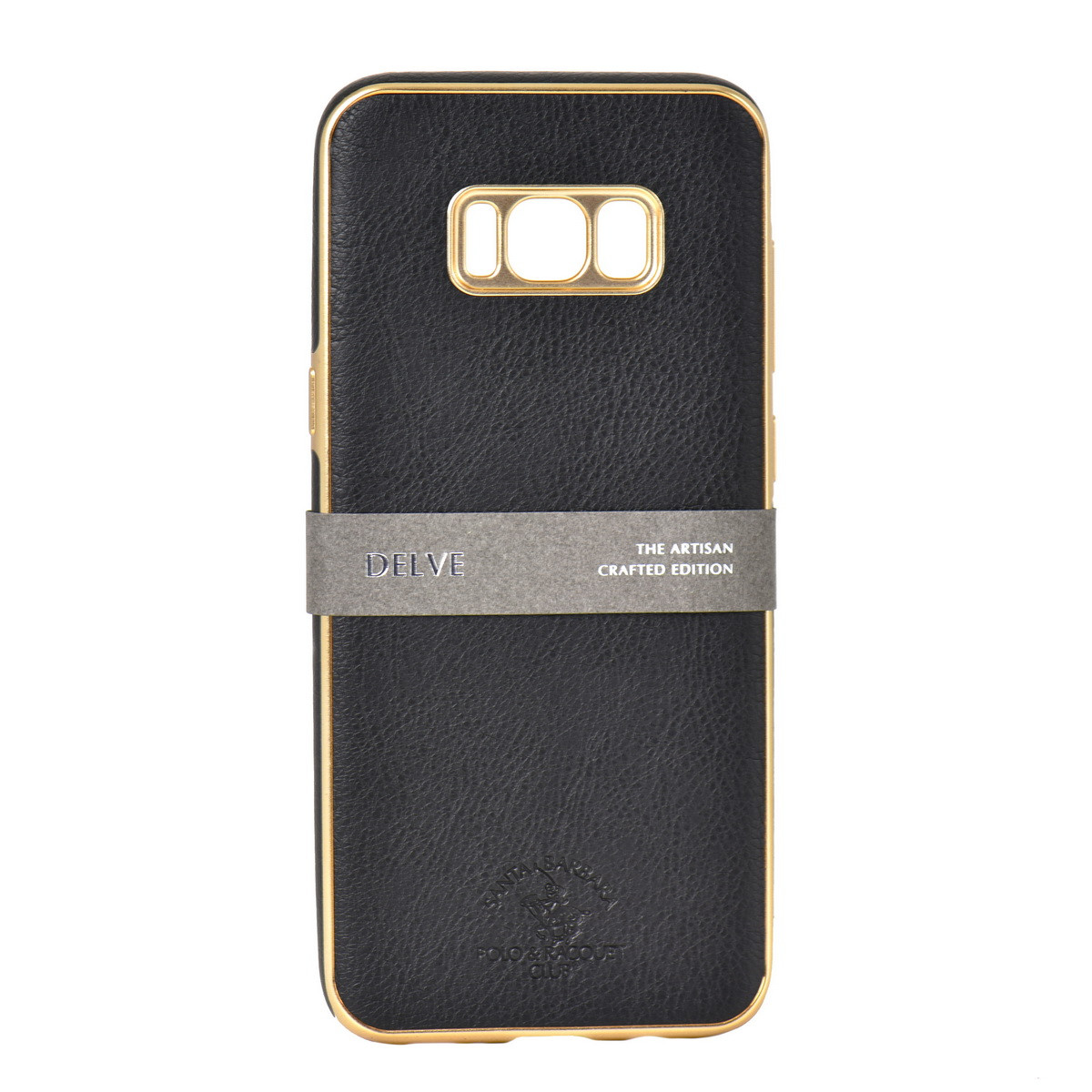 Чехол для Samsung Galaxy S8 Plus G955 back cover Santa Barbara Polo&Racquet Club Delve Black/Gold