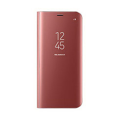 Чехол для Samsung Galaxy S8 Plus G955 book cover clear view standing cover Brown