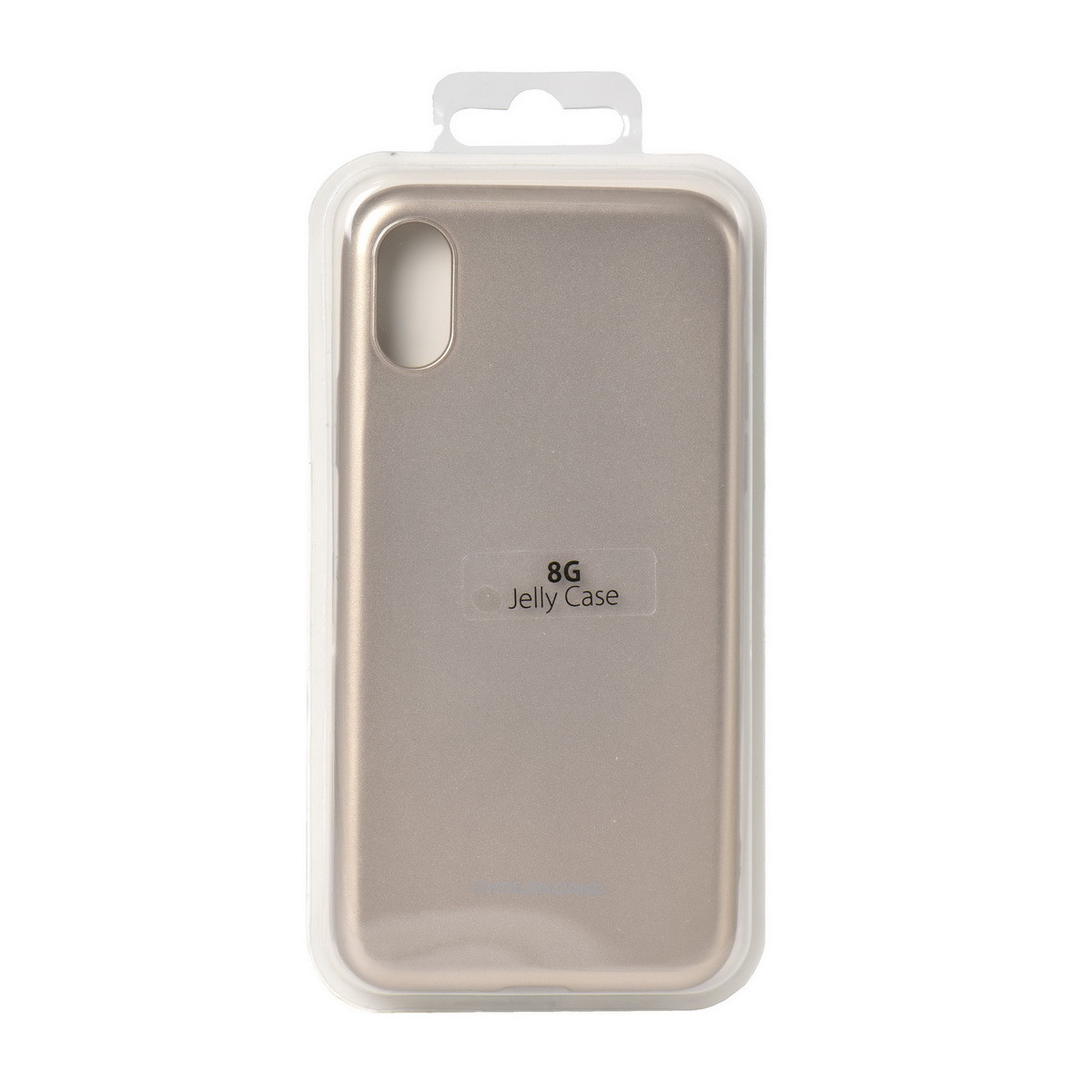 Чехол для Apple iPhone X back cover Molan Cano Jelly Case Gold - MobiPlus в Караганде