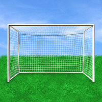 Ворота для футбола стационарные 7,32х2,44 Алюминий К400