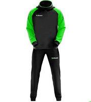 Тренировочный костюм TUTA ENEA черно-зеленый, фото 1