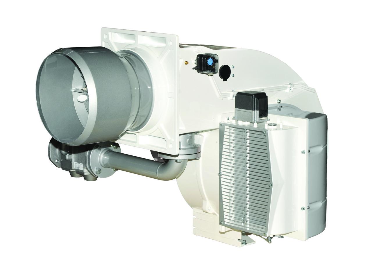 """Газовая горелка ELCO EK-EVO 6.2400 g-e/bt3 kn до 2650 кВт, (с газовой рампой 1"""" 1/2)"""