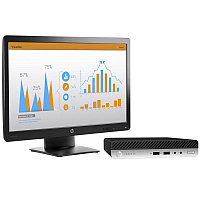 Компьютер HP 2MS60EA ProDesk 400 G3 DM/ Core i3-7100/ 4GB/ 500GB/ DOS