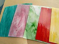 Осколки (бой) цветного витражного стекла Spectrum