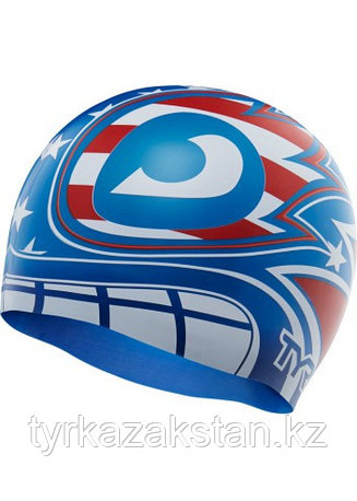Шапочка для плавания TYR The Masked Liberator Swim Cap