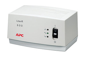 APC LINE-R 600VA AUTOMATIC VOLTAGE REGULATOR, 120V, LAM/NAM