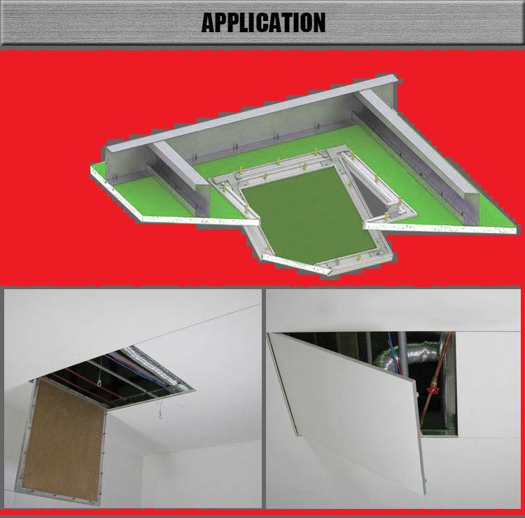 Люк-дверца ревизионная алюминиевая (под покраску) 400х400