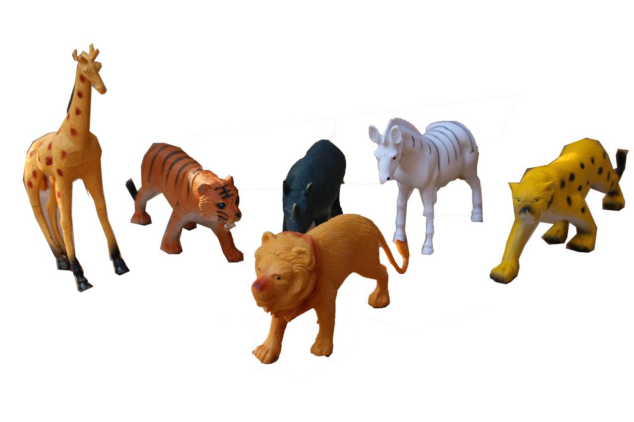 Набор Диких Животных в Пакетике А585