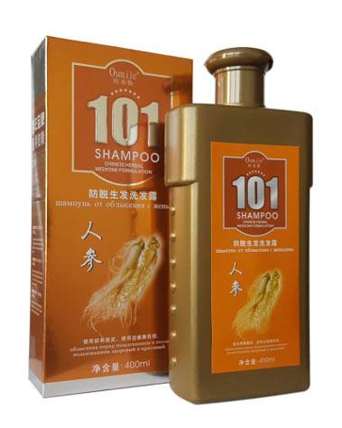 Китайский шампунь 101 ЖЕНЬШЕНЬ