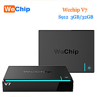 Android TV Wechip V7 (Amlogic S912 Octa-Core 64-bit ARM Cortex-A53 2ГГц/ DDR3 3 ГБ/eMMC 32 ГБ