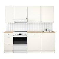 Кухня КНОКСХУЛЬТ белый ИКЕА, IKEA
