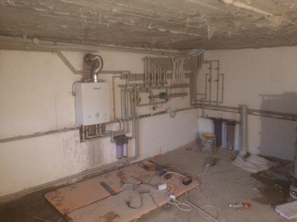 """Отопление и ВК  """"Под Ключ"""" дом 260 м2 Каскелен"""