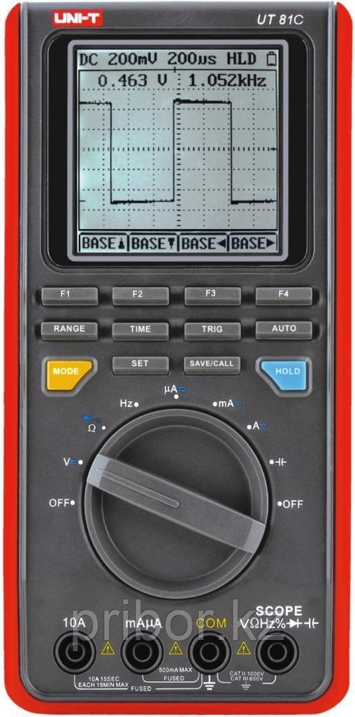 Осциллограф-мультиметр 16МГц, одноканальный UNI-T UT81C