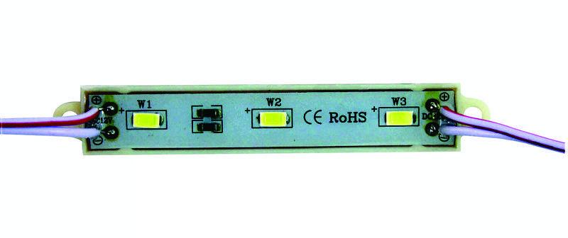 Светодиодный модуль 5630 (IP65) 0,72W, Цвет - Белый