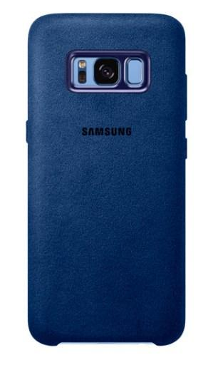 Чехол Alcantara Cover для Samsung Galaxy S8 Plus G955F (синий)