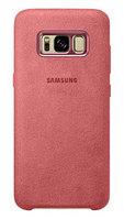 Чехол Alcantara Cover для Samsung Galaxy S8 G950F (красный), фото 1